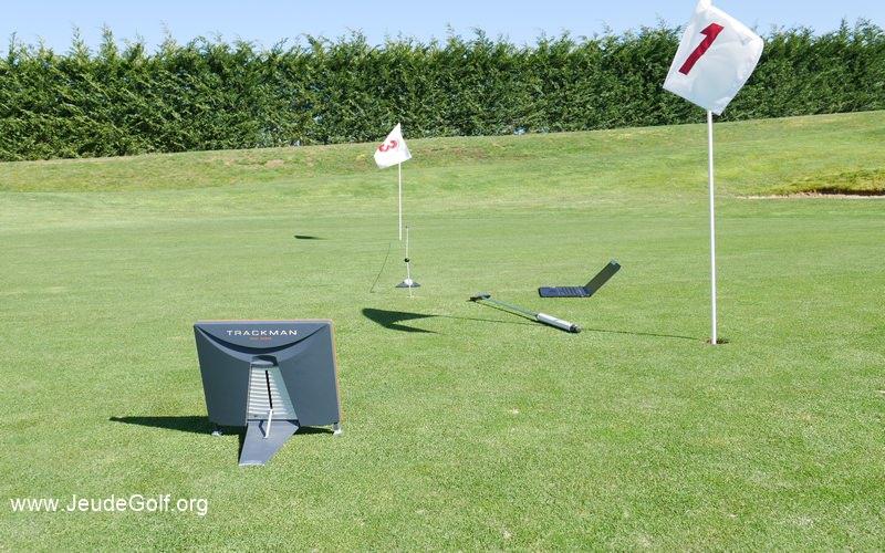 Labo Golf : Evaluer une pente par rapport à la vitesse d'un green