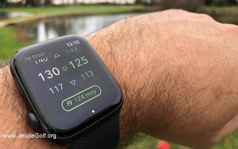Test de la montre Apple Watch Series 5 pour le golf (avec Arccos Caddie)