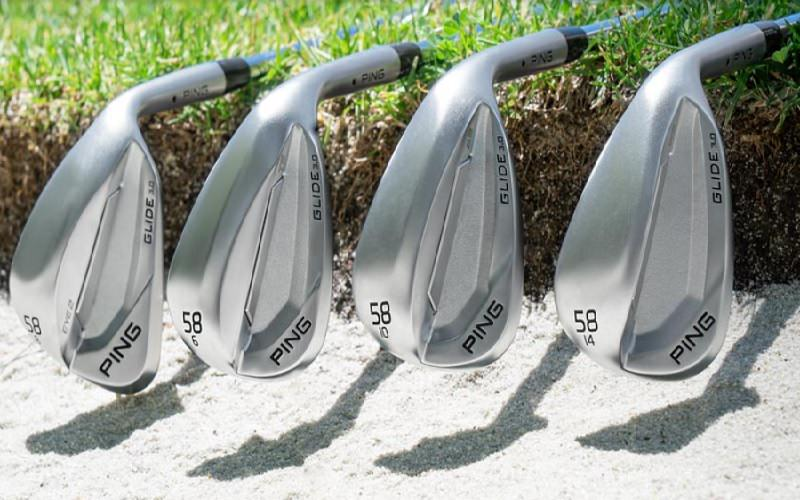 Wedges PING GLIDE 3.0: Pour l'amour du spin