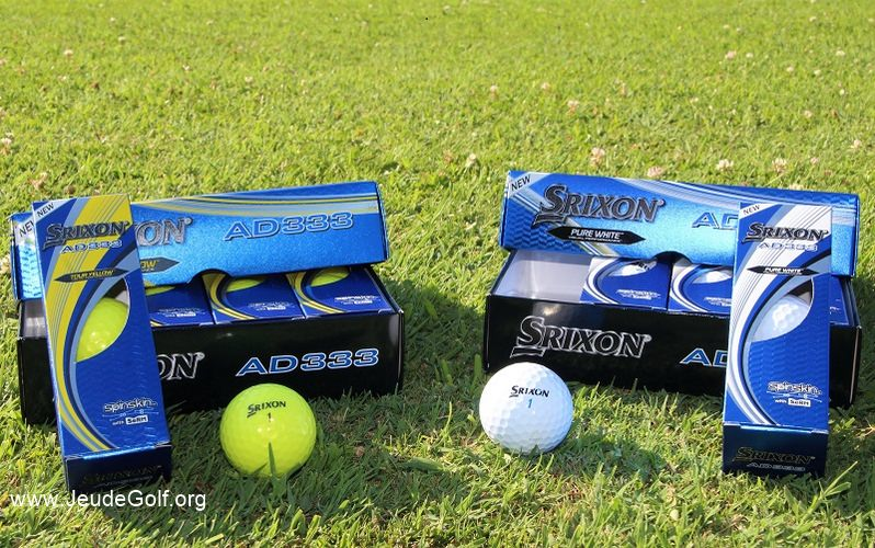 Balles de golf Srixon AD333: Déjà la 9ème génération