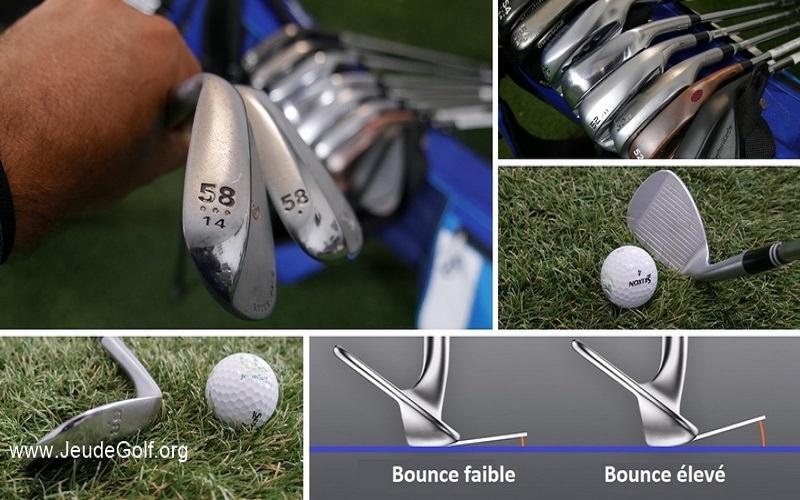 Quel est le véritable «bounce» ou «rebond» d'un club de golf?