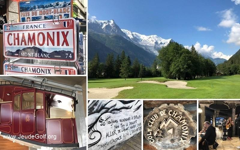 Le Golf «Rock'n roll de» de Chamonix à faire, et à refaire…