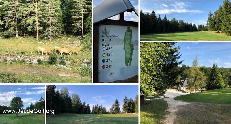 Golf de Corrençon-en-Vercors: Le golf que la montagne attendait?