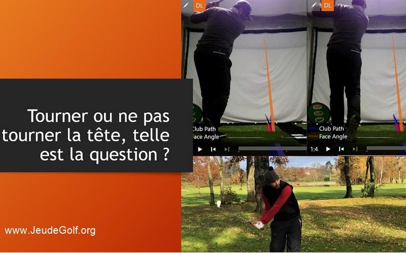 Labo Golf: Swing sans tourner la tête contre swing en tournant la tête!