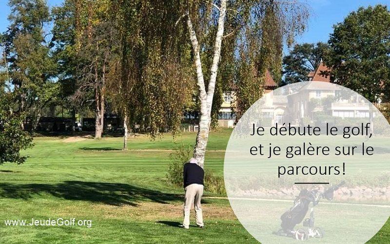 Je joue au golf depuis moins d'un an. Comment progresser plus vite sur le parcours?