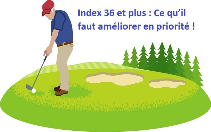 Index 36 et plus : Ce qu'il faut améliorer en prioritépour mieux jouer!