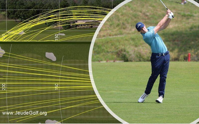 La trajectoire de votre balle de golf est votre meilleur entraîneur!