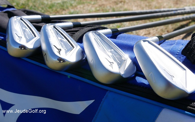 Test des 4 fers Mizuno JPX-919 (Hot Metal, Pro, Forged, et Tour)