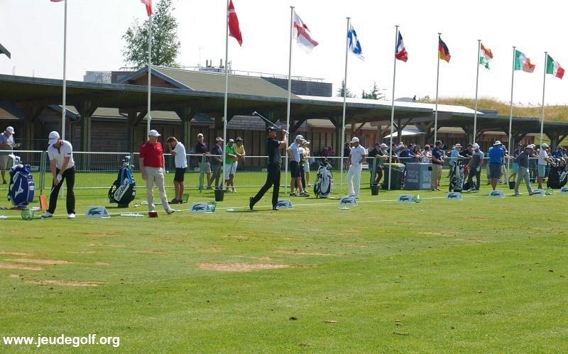 Entraînement spécifique au practice de golf avant une compétition