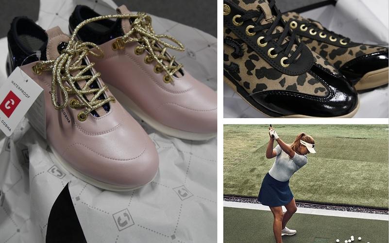 Chaussures de golf pour femmes : Under Armour VS Duca del Cosma
