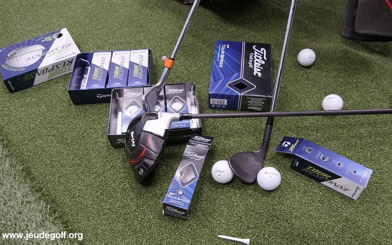 Test comparatif des balles Titleist Tour Speed et TaylorMade Tour Response