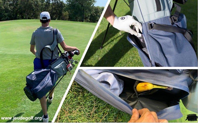 Test du sac trépied Finally: Un sac de golf nouvelle génération?