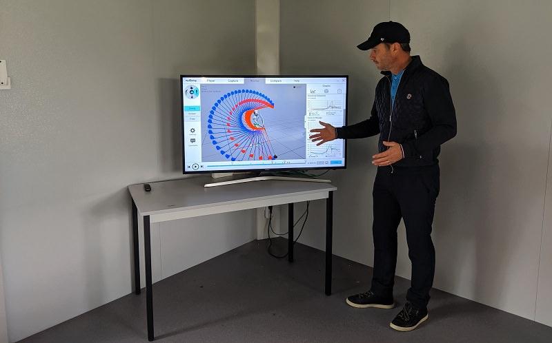 David Arrignon: La capture du swing en 3D, c'est un peu l'IRM du swing de golf