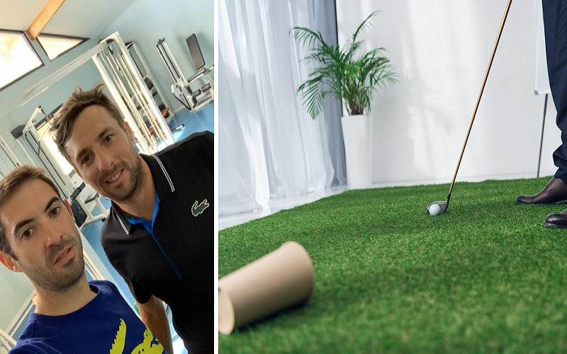 Kit de pratique d'un golfeur confiné - Partie 1