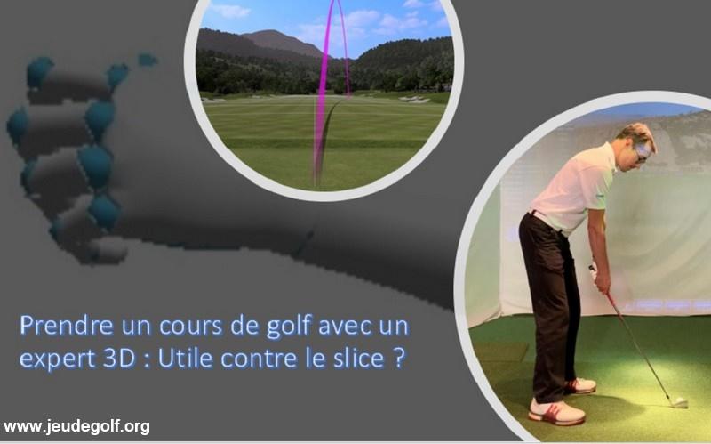Prendre un cours de golf avec un expert 3D : Utile contre le slice ?