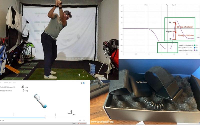 HackMotion Golf: Un capteur pour analyser les mouvements de votre poignet
