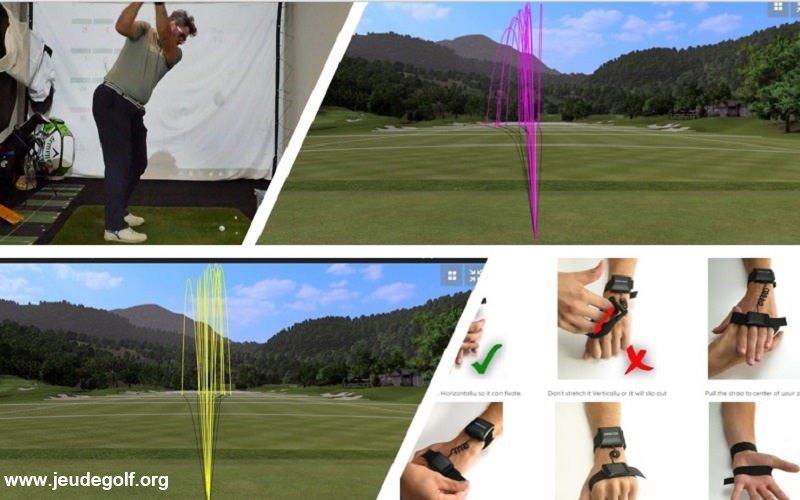 HackMotion Golf: Premier test du capteur sur le poignet