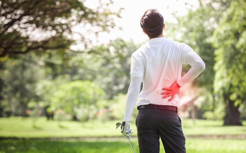 Douleurs au dos et golf: Une fatalité pour 35% des golfeurs?