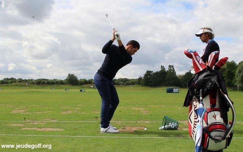Reprendre le golf après le confinement par une leçon avec un pro