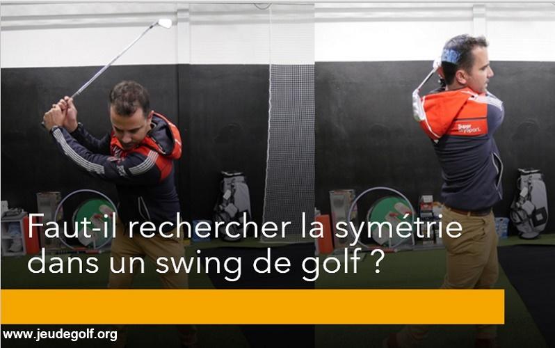 Labo Golf: La symétrie parfaite d'un swing de golf…