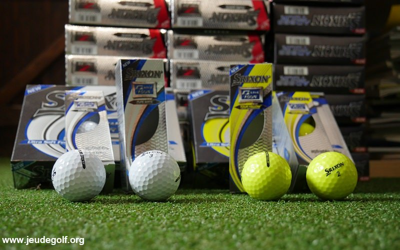 Test des balles de golf Srixon Q-Star Tour