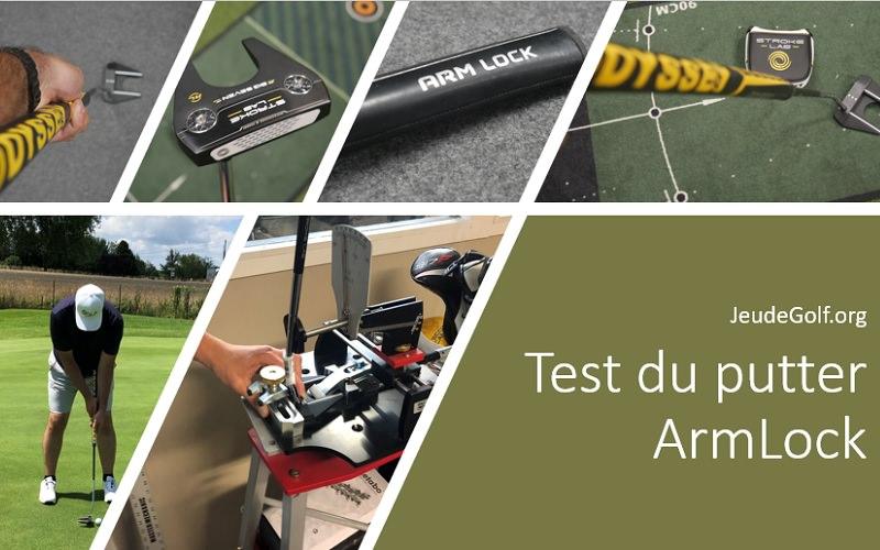 Test du putter Armlock Odyssey Big Seven: La solution pour putter plus droit?