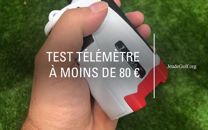 Test du télémètre pour le golf BIJIA G600 à moins de 80 euros!