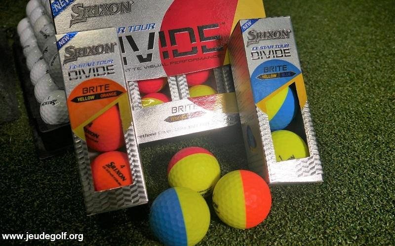 Test des balles de golf Srixon Q-Star Tour DIVIDE