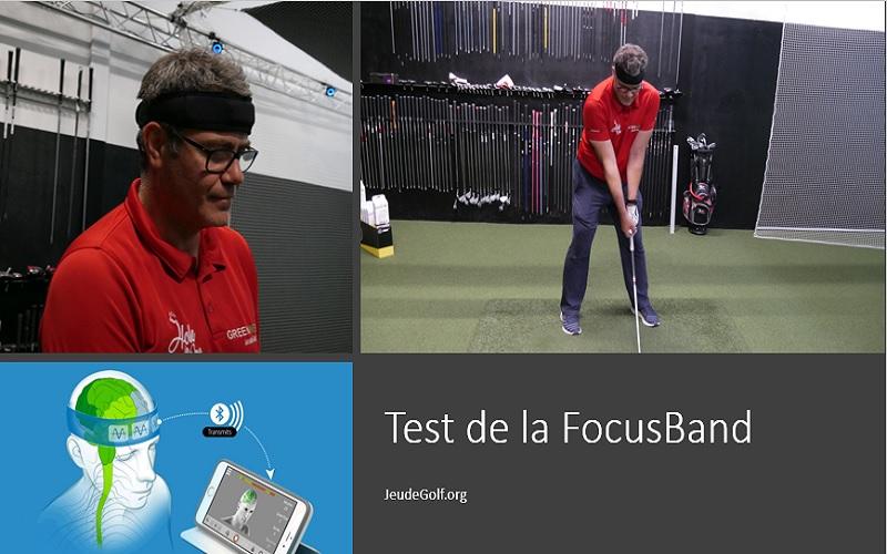 Test de la FOCUSBAND : Quel bénéfice pour la qualité de frappe de balle au golf ?