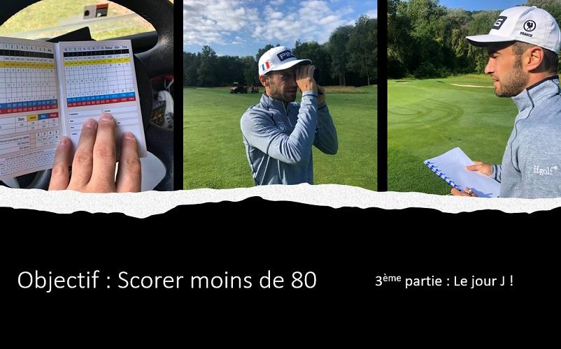 Objectif moins de 80: La partie sur le parcours avec le cadet/coach Arnaud Garrigues