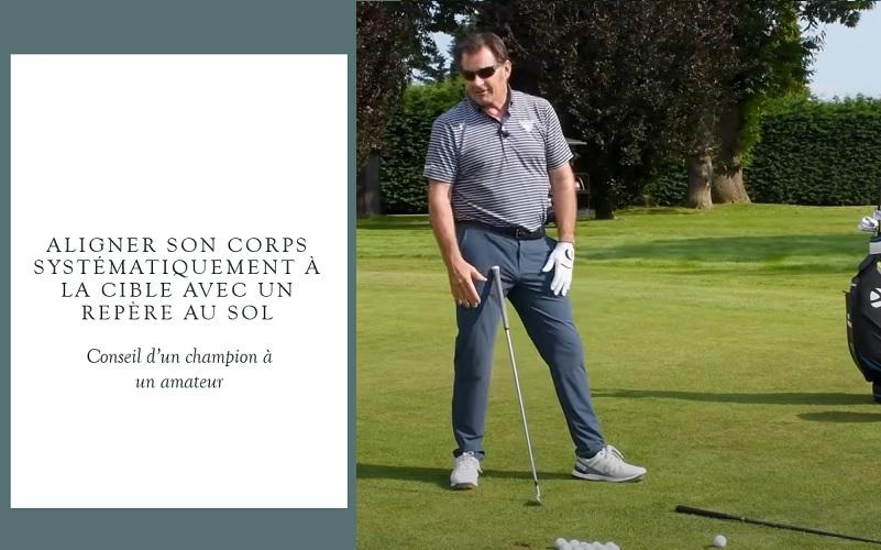 L'importance de l'alignement selon un champion de golf