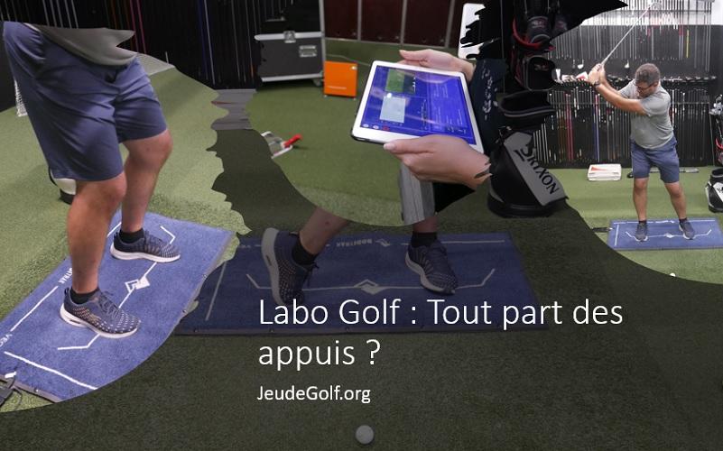 Labo Golf: Tout part des appuis? Une expérience avec le plateau de force Boditrak