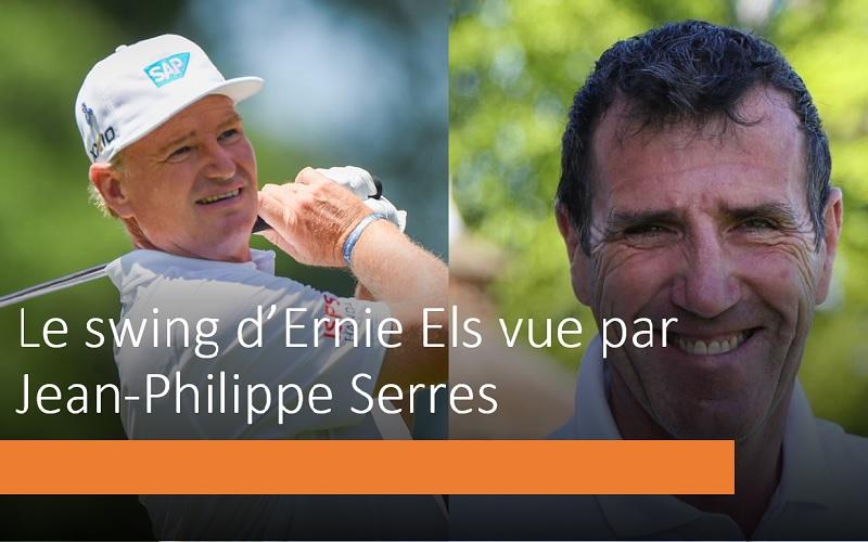 La séquence de swing d'Ernie Els par Jean-Philippe Serres