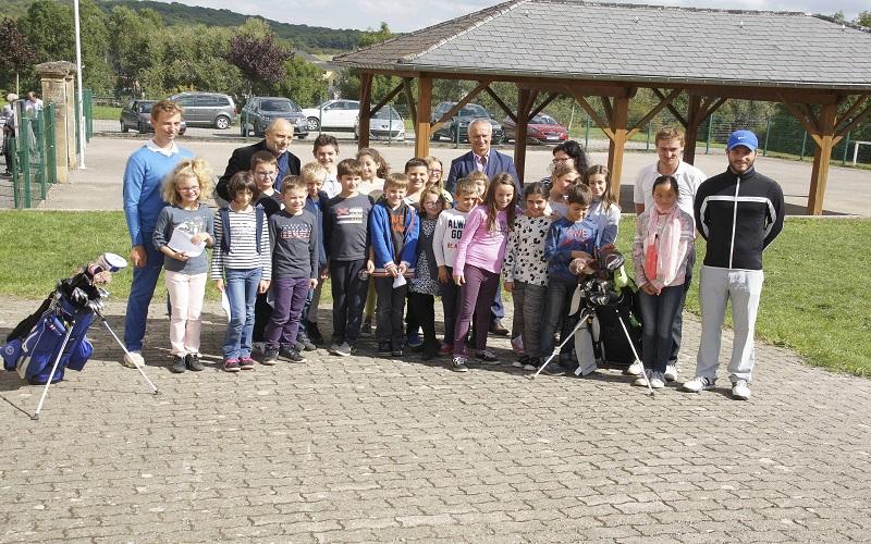 rencontre d'élèves de l'école primaire de Zoufftgen