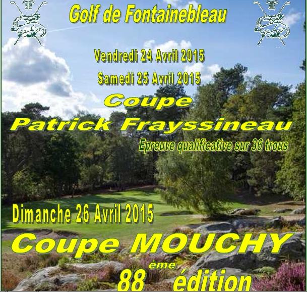 Coupe Frayssineau Mouchy à Fontainebleau