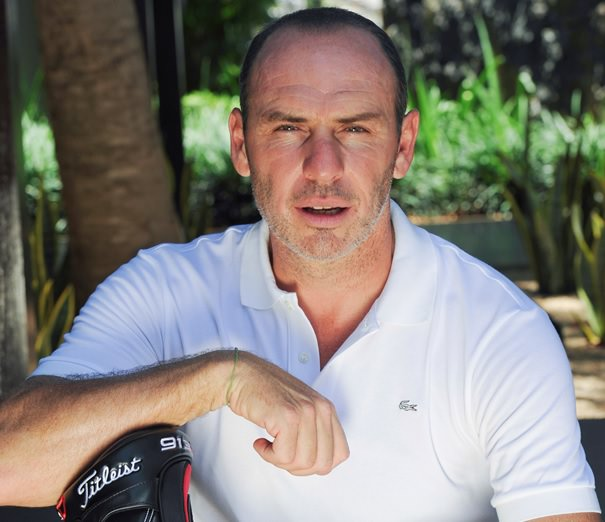 Alain Boghossian champion de foot et golfeur