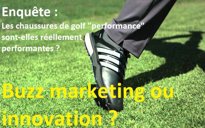Enquête : Les chaussures de golf modernes comptent-elles vraiment dans la performance ?