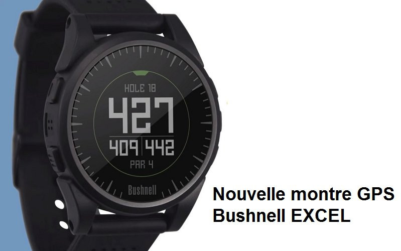 Montre de golf GPS Bushnell EXCEL
