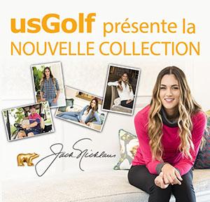 US Golf présente la nouvelle collection Jack Nicklaus