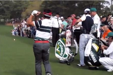 sac de golf masters