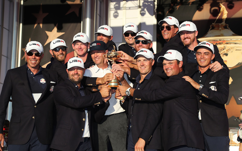 Ryder Cup, victoire du Team USA