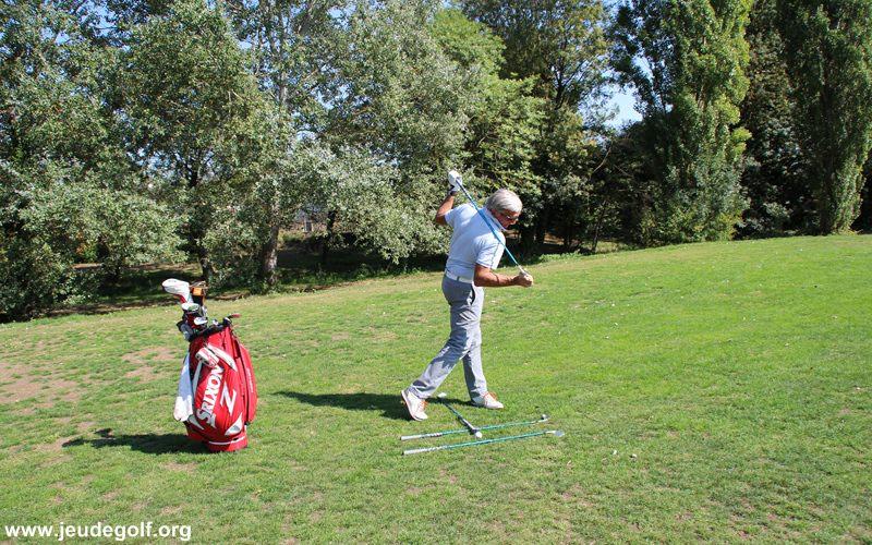 Exercices pour améliorer posture et rotation d'un swing de golf