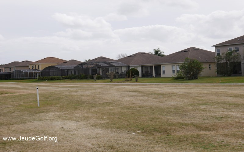 Maisons typiques autour du golf Oaks National près d'Orlando