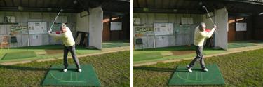 Apprendre le swing de golf pendant un stage