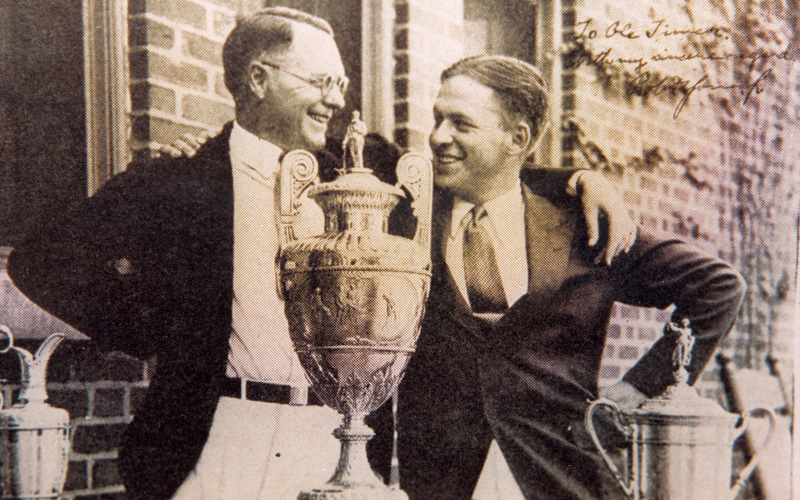 Bobby Jones, photo Mark Newcombe Visioningolf