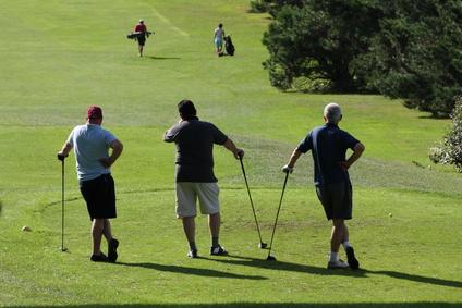Se faire des amis au golf