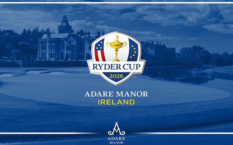 Adare Manor en Irlande, désigné hôte de la Ryder Cup 2026