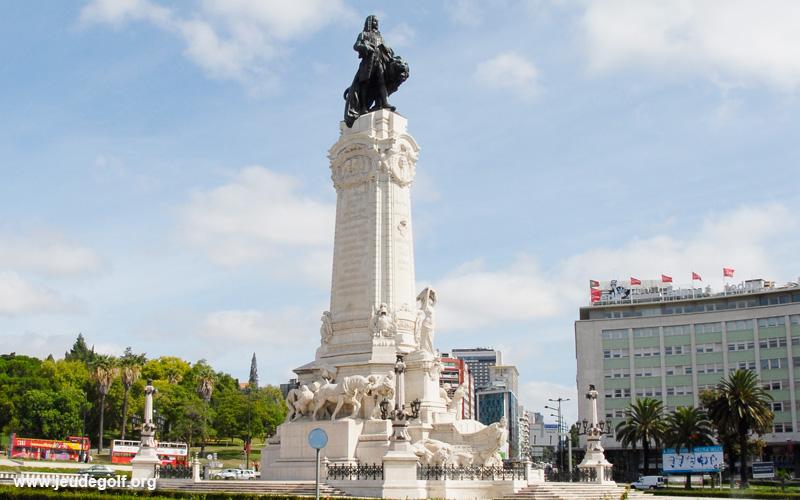 Lisbonne place du Marquis de Pombal