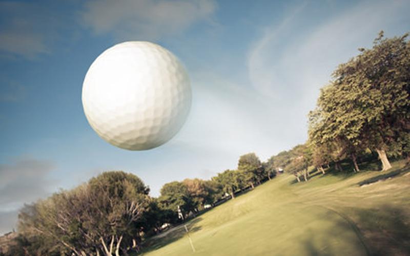 distances avec les balles de golf