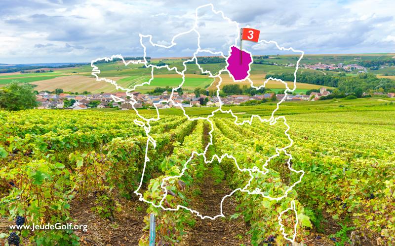La route des golfs par les vignobles. N°3 Champagne